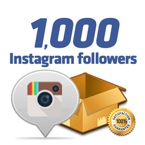 1,000 Instagram Followers
