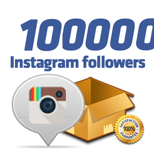 100,000 Instagram Followers