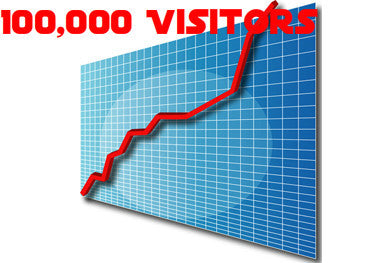 100,000 Adsense Safe Traffic Website Visitors