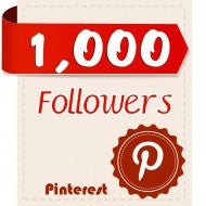 1,000 Pinterest Followers