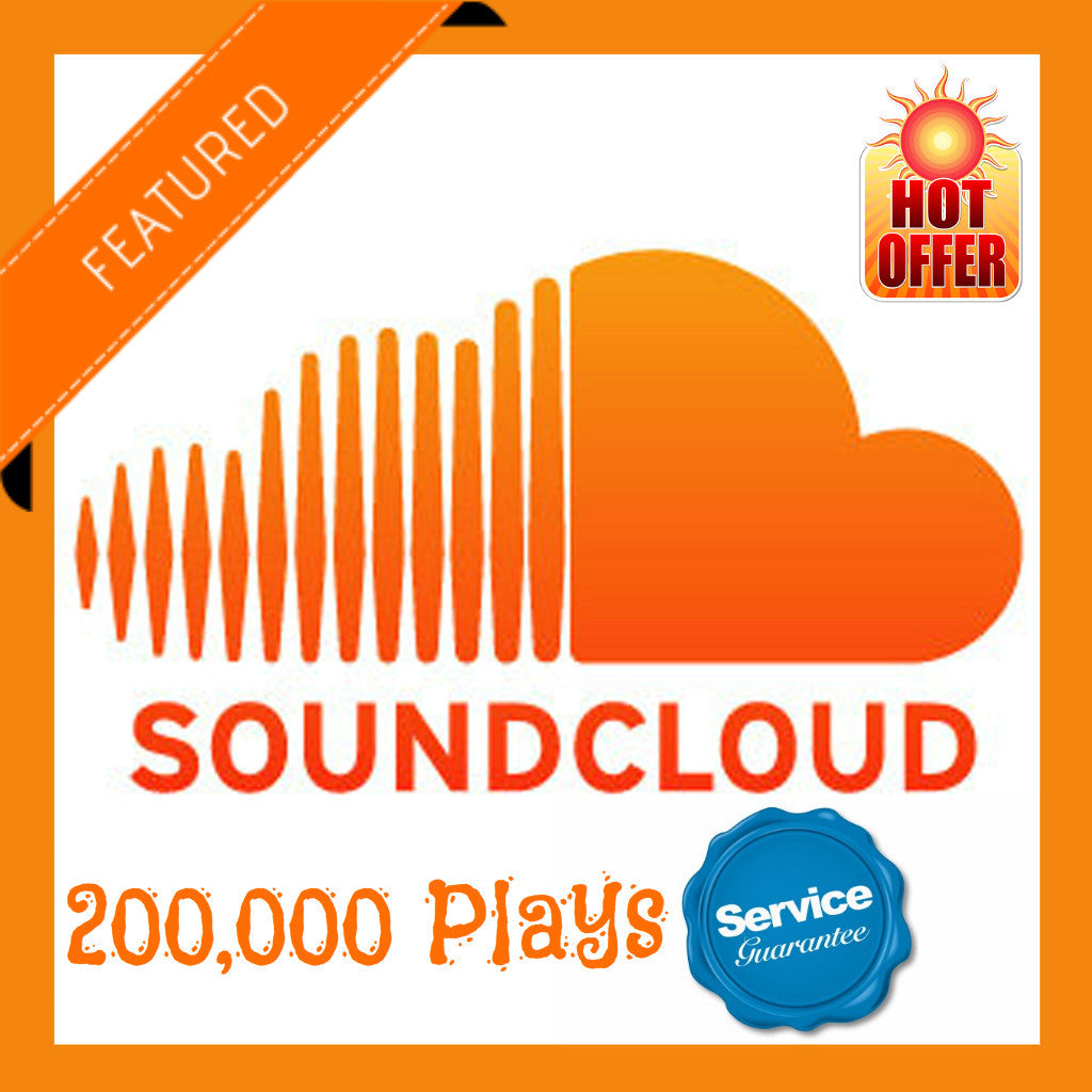 200,000 Soundcloud Plays