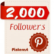 2,000 Pinterest Followers