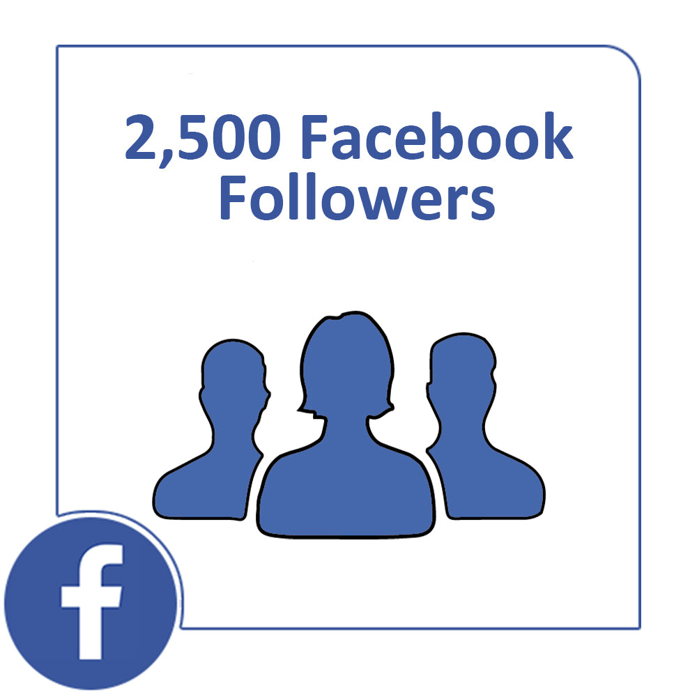 2.500 Facebook Followers