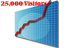 25,000 Adsense Safe Traffic Website Visitors