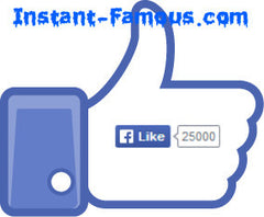 25,000 Facebook Likes for Website Page