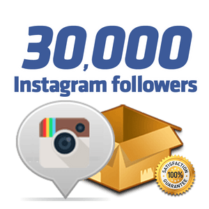 30,000 Instagram Followers