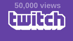 50,000 Twitch Views