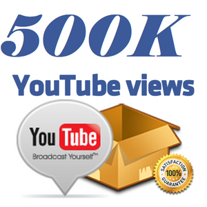 500,000 YouTube Views