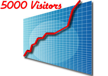 5,000 Adsense Safe Traffic Website Visitors