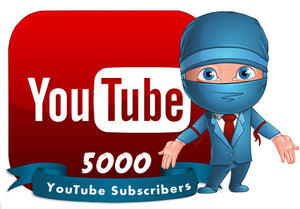5000 YouTube Subscribers