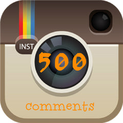 500 Instagram Comments