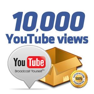 10.000 YouTube Views