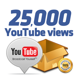 25.000 YouTube Views