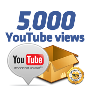 5.000 YouTube Views
