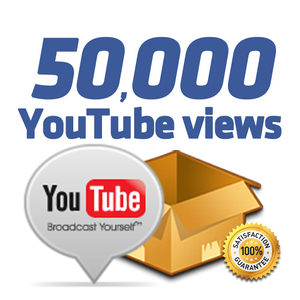 50.000 YouTube Views