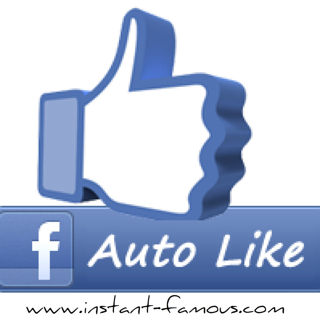 100 Facebook Photo/Post Auto Likes