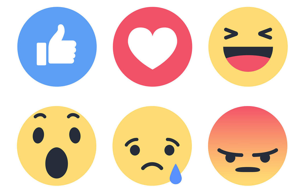 1.000 Facebook Reactions