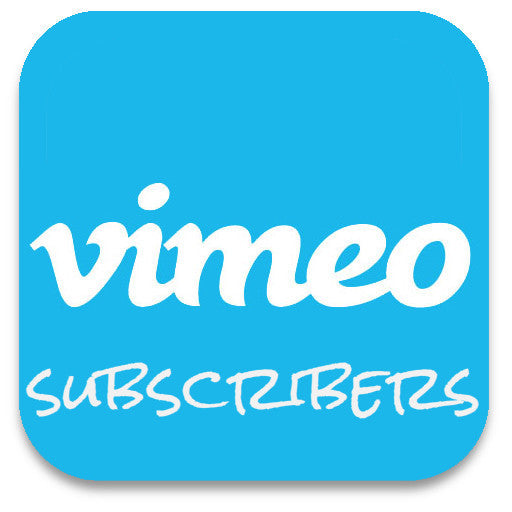 Buy Vimeo Subscribers