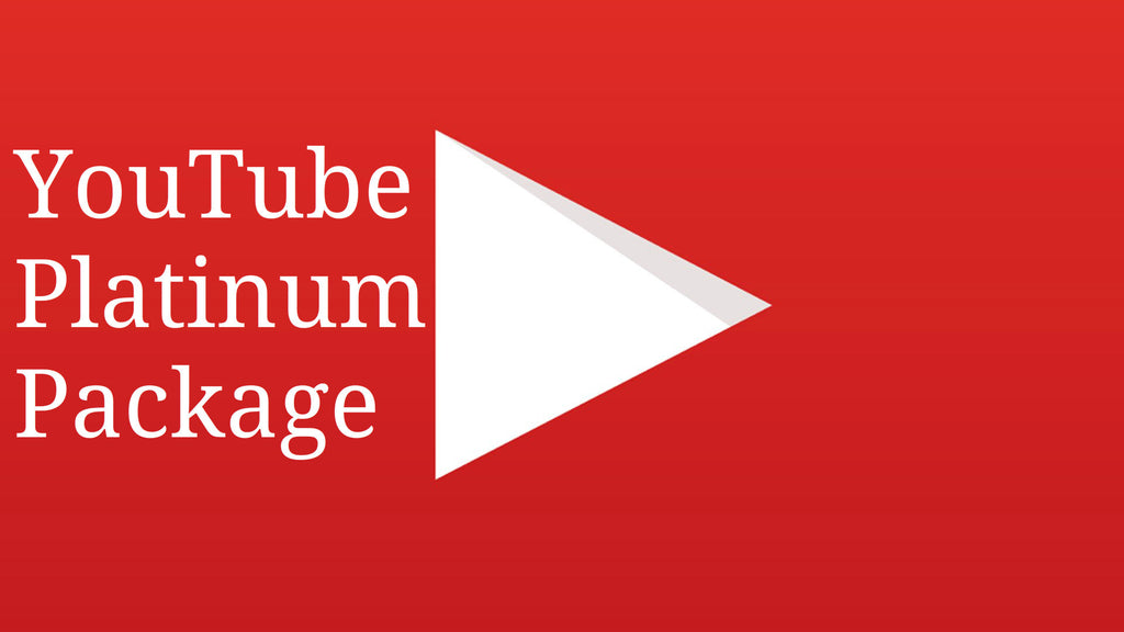 YOUTUBE PLATINUM PACKAGE