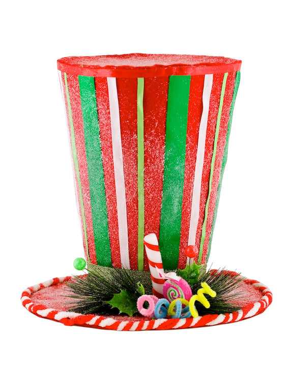 Candy Cane Top Hat