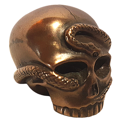 Design Clinic Cold Cast Bronze Skull