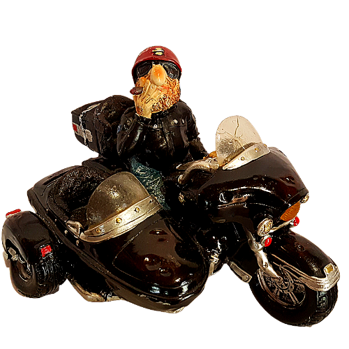 Bad Arse  Bartholomew Biker Money Box