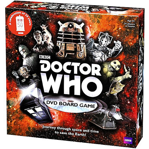 BBC Doctor Who DVD Board Game