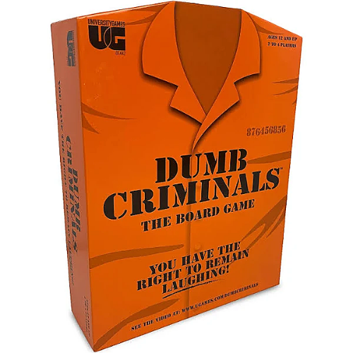 Dumb Criminals The Board Game