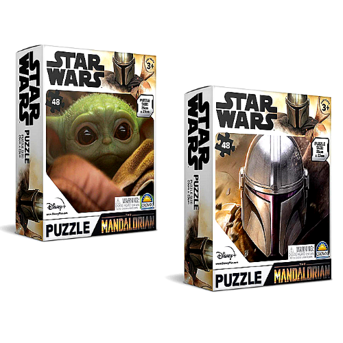 Star Wars The Mandalorian 48 Piece Puzzle