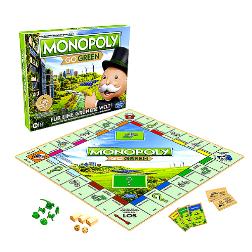 Monopoly Go Green Board Game