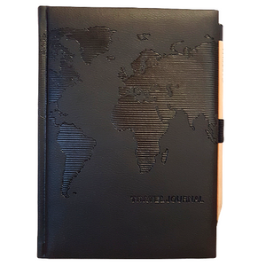 Leather Bound Travel Journal By Castelli