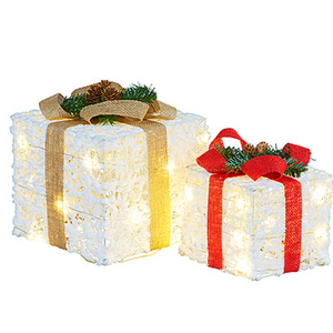 LED Christmas Presents Gift Box's