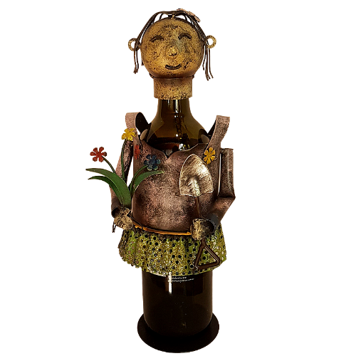 Miss Gardener Wine/Spirit Bottle Holder