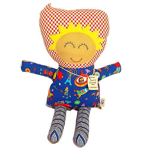 Tommy Plush Toy - By Liv Happy