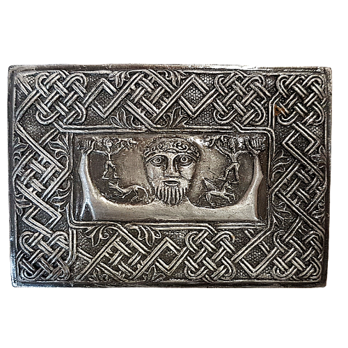 Celtic Green Man King Gunmetal Box