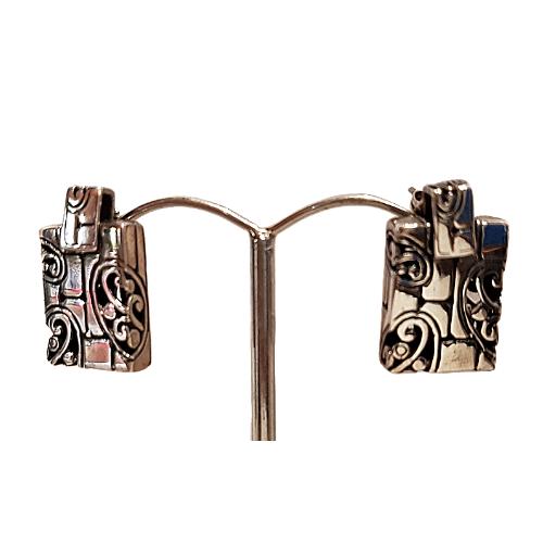 Art On Your Ears Sterling Silver Earring
