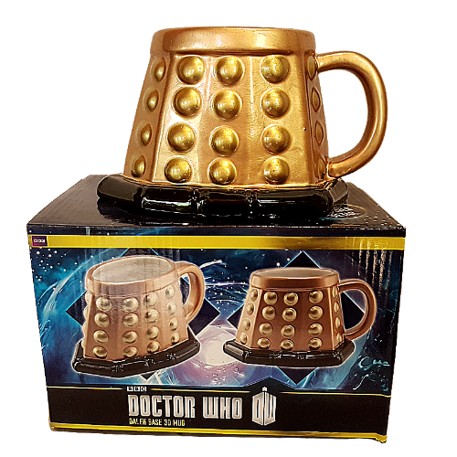 BBC Doctor Who Dalek Base 3D Mug