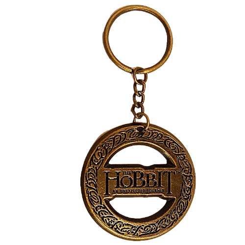 The Hobbit The One Ring Metal Key Ring