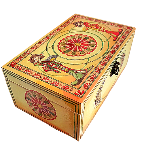 Japanese Style Wooden Box