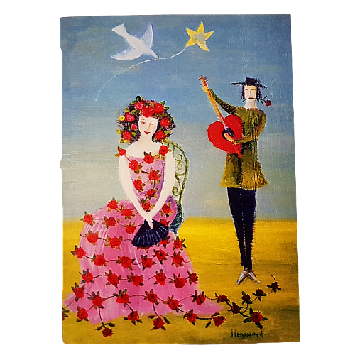 Romancing The Rose Valentine's Card
