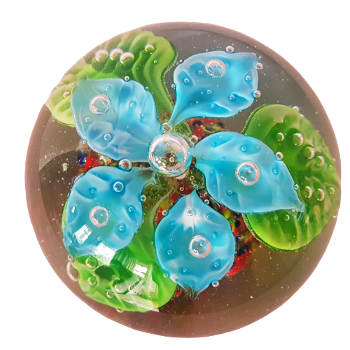 Under the Sea Murano Castellani Paperweight