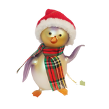 Tinky -  Glass Christmas Penguin Ornament