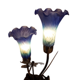 Lily Lamp with Dragon Fly
