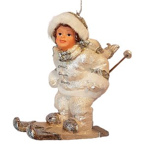 Having Fun On The Slopes Christmas Ornament