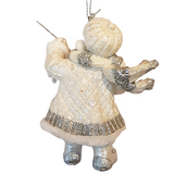 Christmas Fishing Fun Tree Ornament