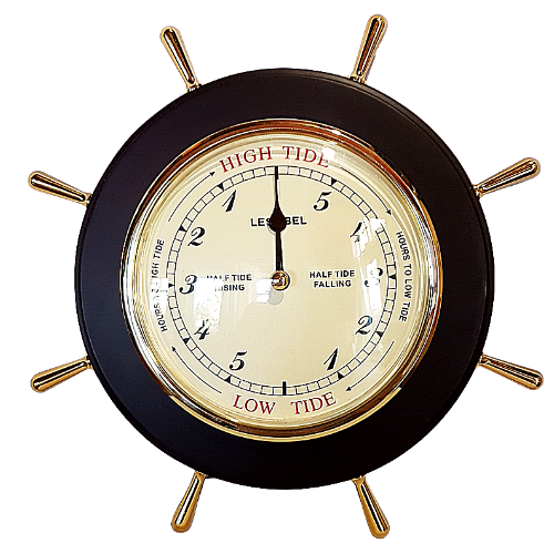 Wooden Nautical Tide Clock