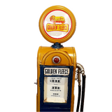 Golden Fleece Tin Petrol Pump