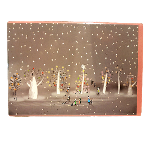 snowdrift Christmas Card