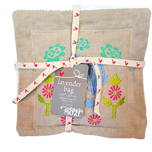 Mozi Cotton Lavender Bag