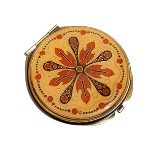 Autumn Leaves Mirror Compact